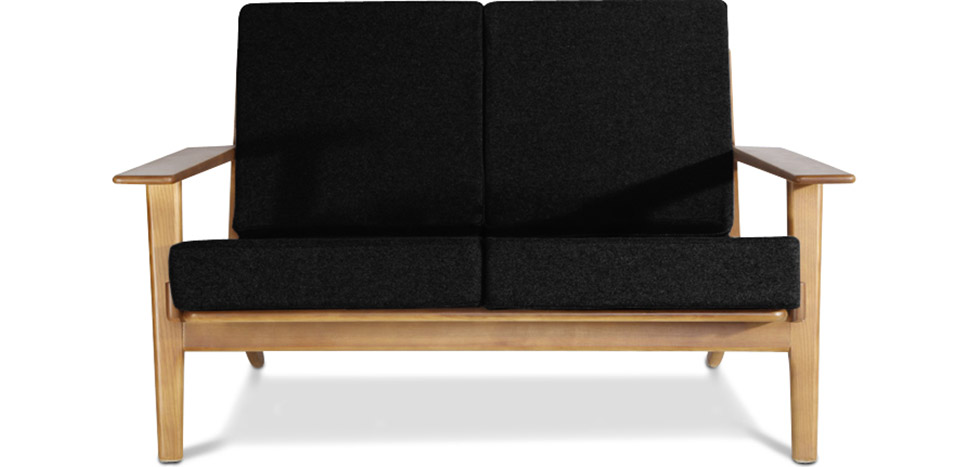 Skandinavisches Design Sofa Scandinavian (Zweisitzer) - Stoff