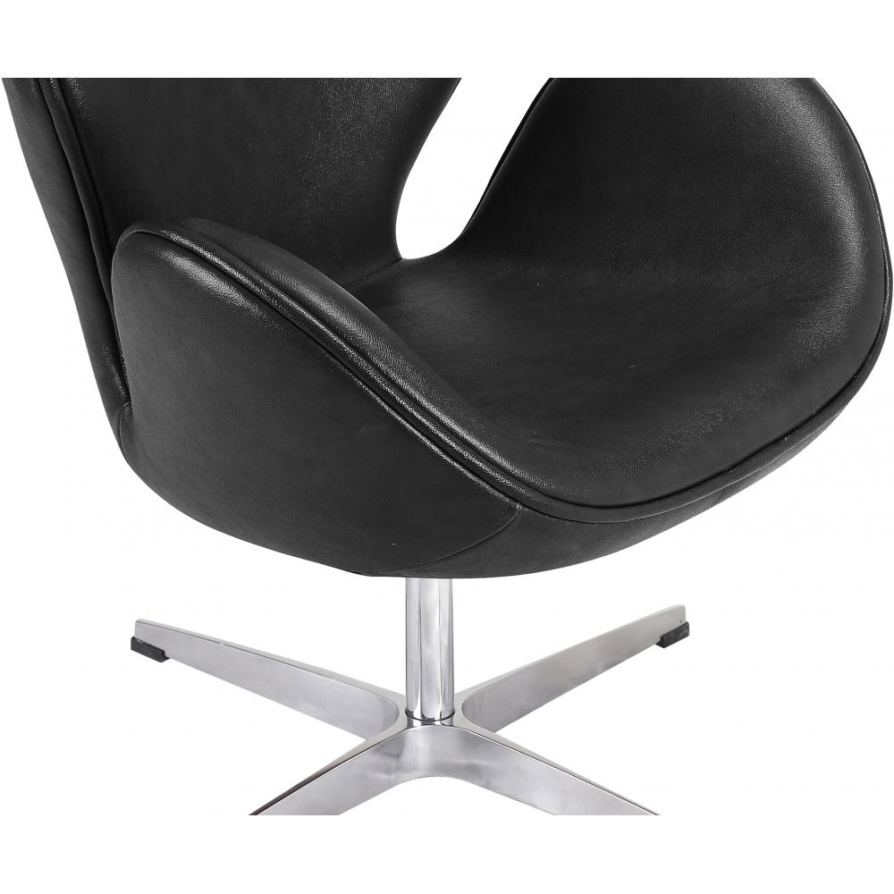 Swan stuhl cool billige replik fiberglas schwenk swan for Design stuhl replik