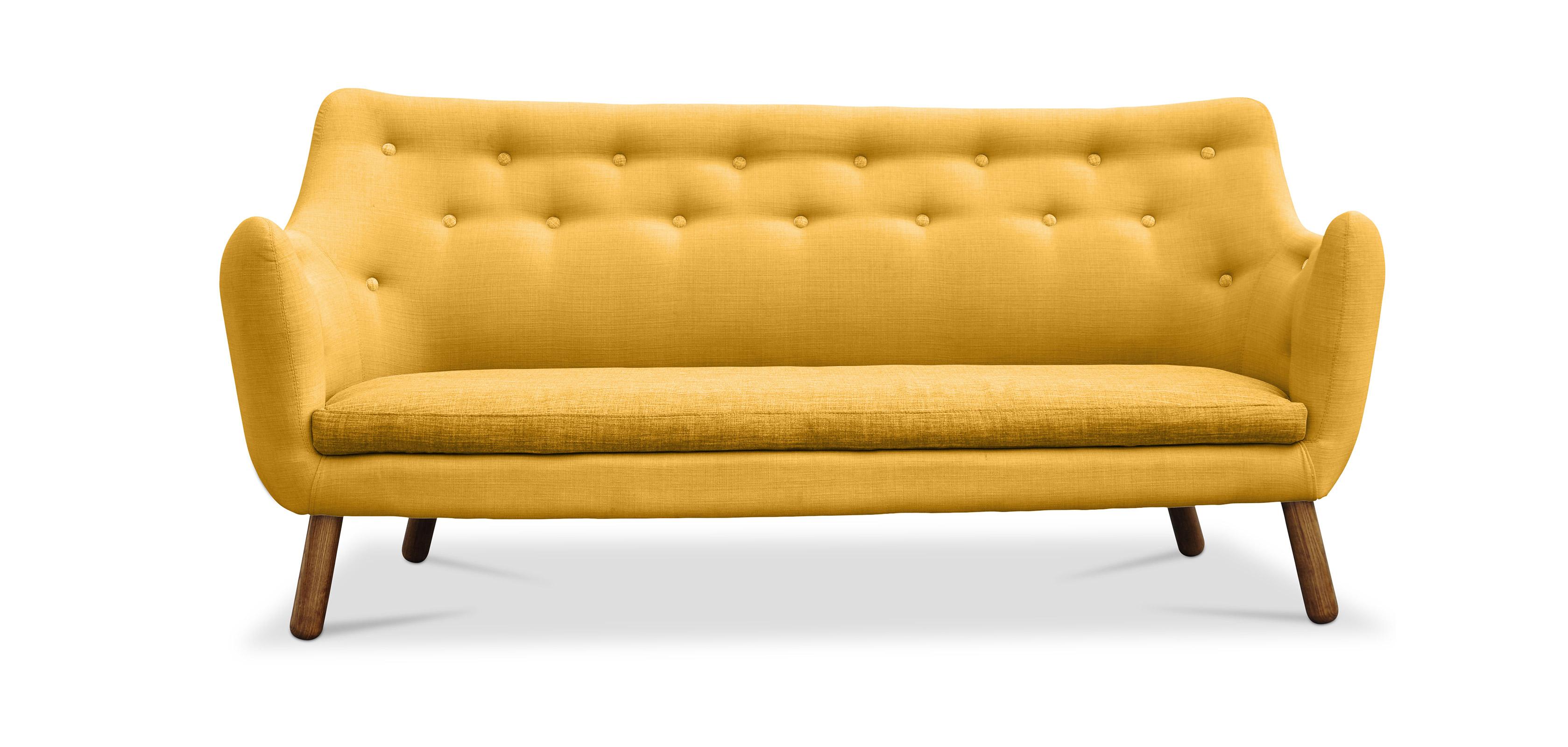 poet sofa 3 sitzer skandinavisches design stoff. Black Bedroom Furniture Sets. Home Design Ideas