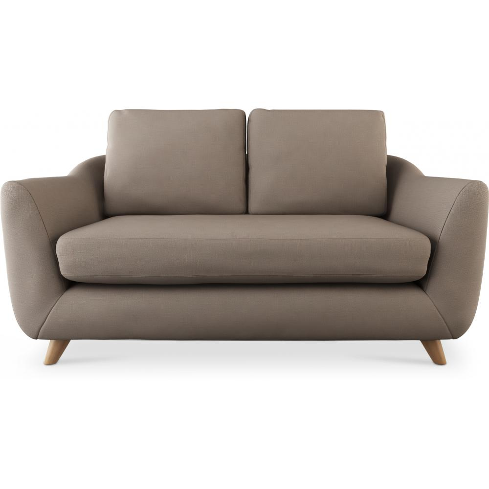 Skandinavisches design sofa scandinavian zweisitzer stoff for Sofa skandinavisches design