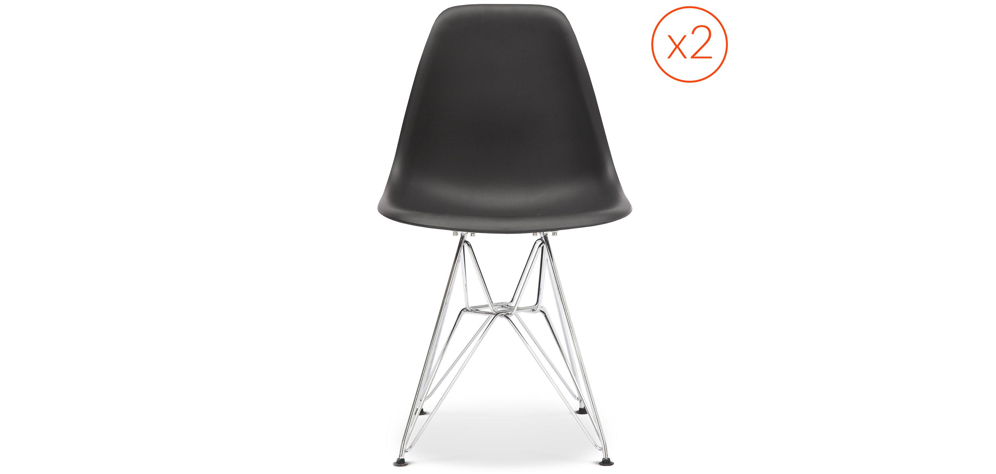 Lot von DSR Stühle Charles Eames