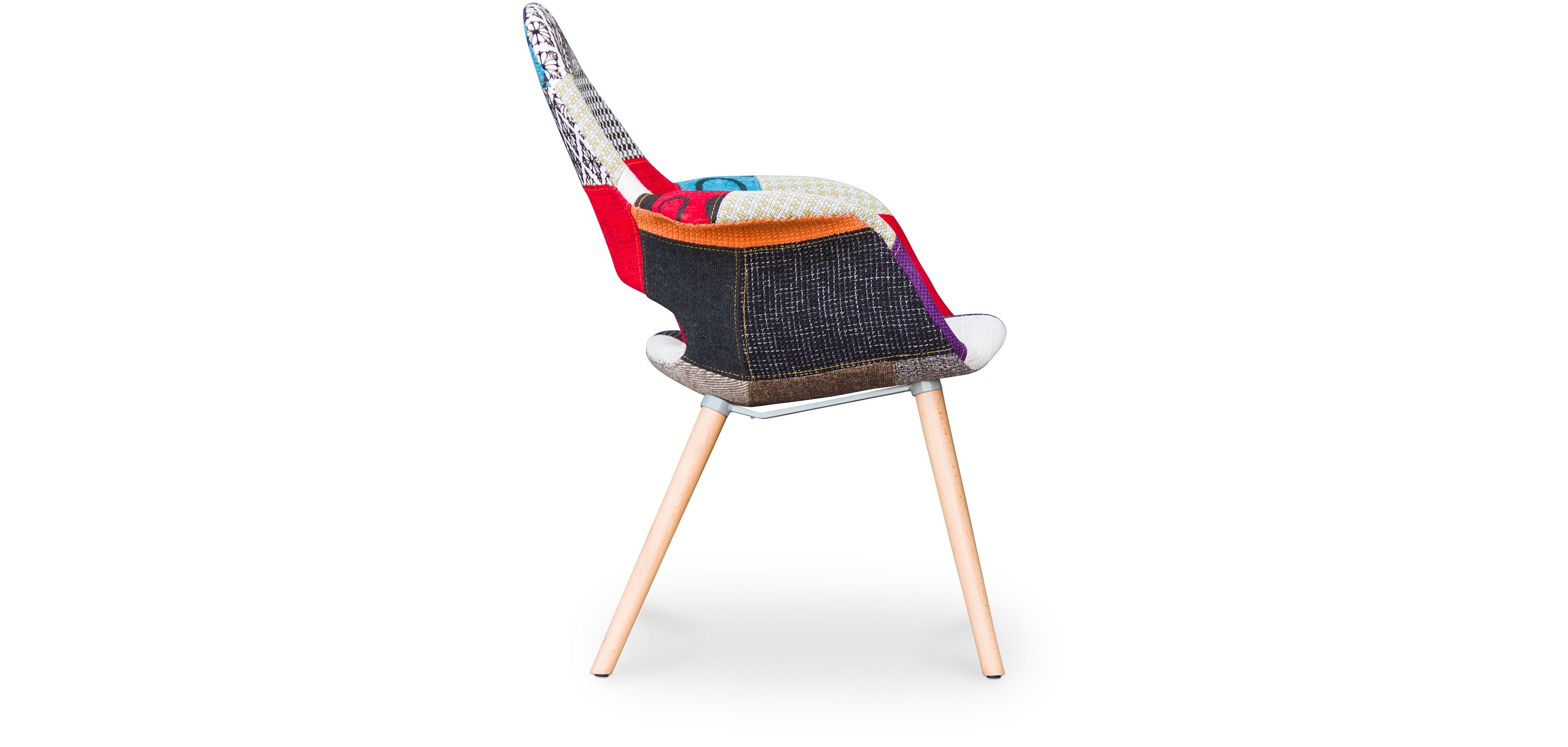 organy skandinavisches design stuhl patchwork. Black Bedroom Furniture Sets. Home Design Ideas
