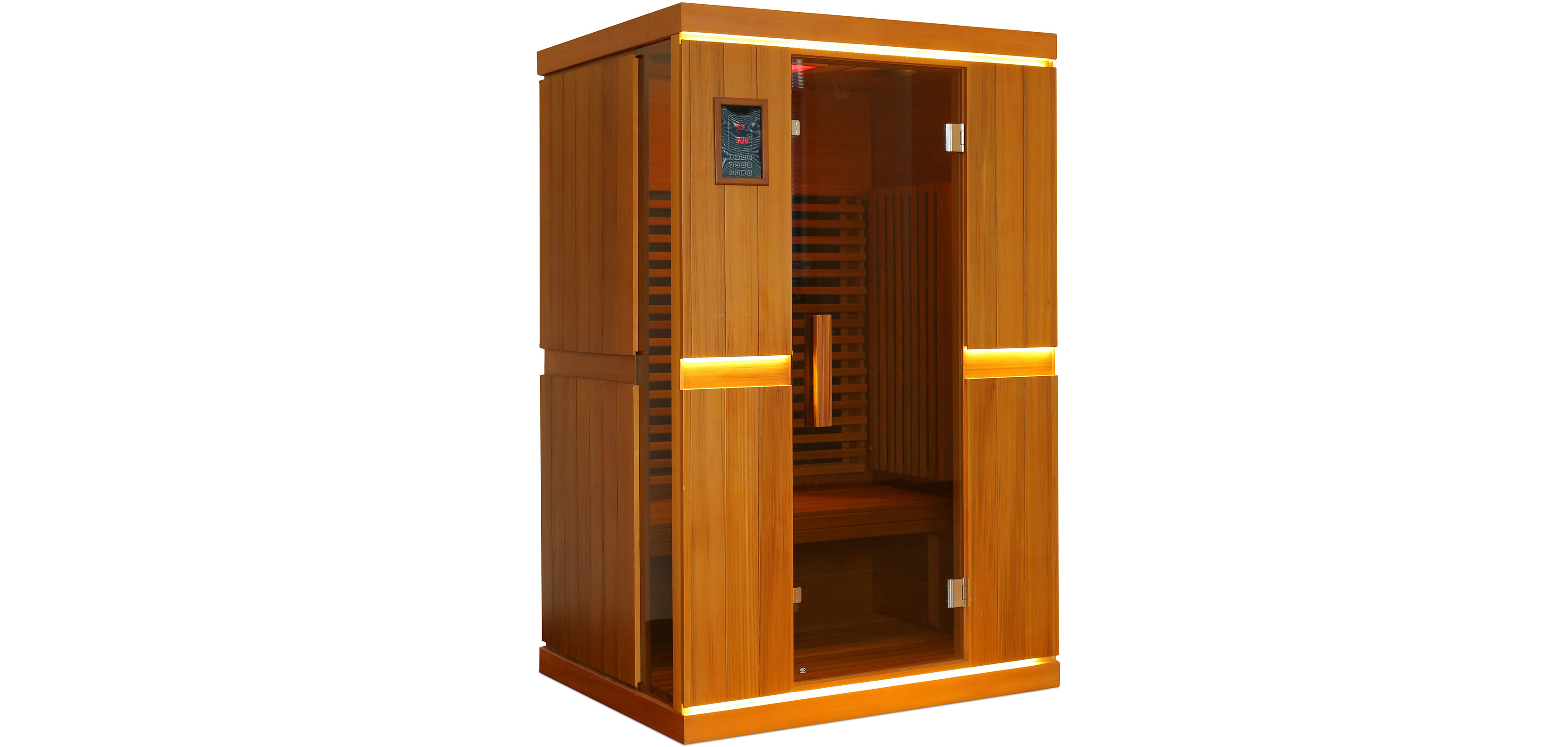 infrarot sauna f r 2 personen. Black Bedroom Furniture Sets. Home Design Ideas
