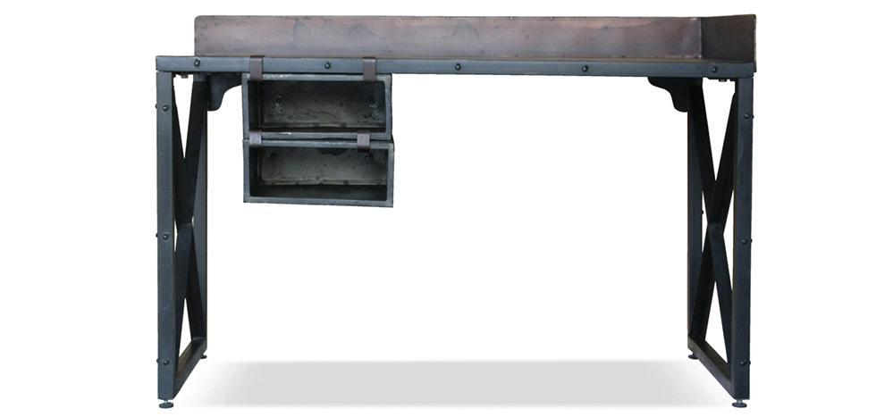 Industrial Schreibtisch vintage industrial schreibtisch stahl
