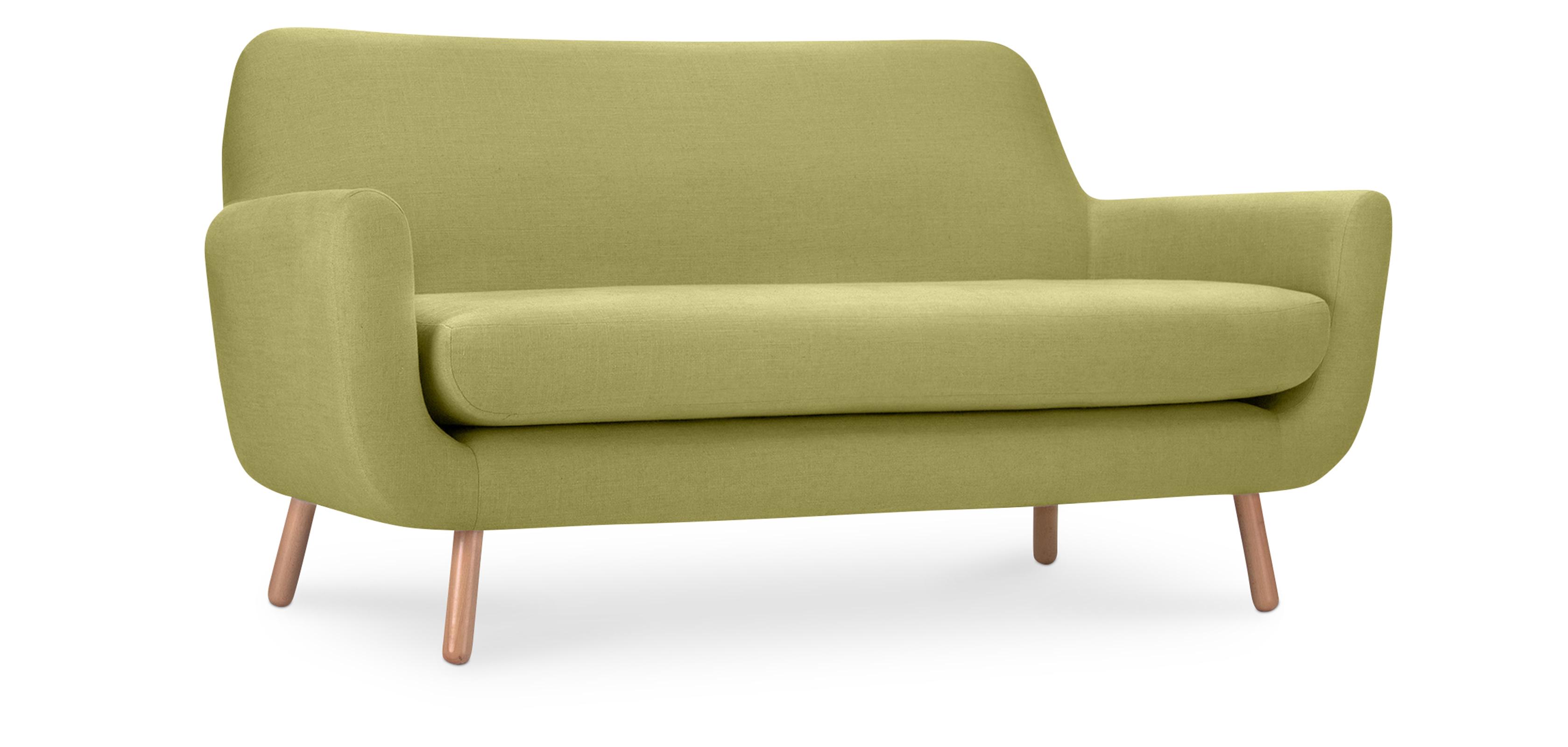 Skandinavisches Design 2-Sitzer Jonaasah Sofa - Stoff
