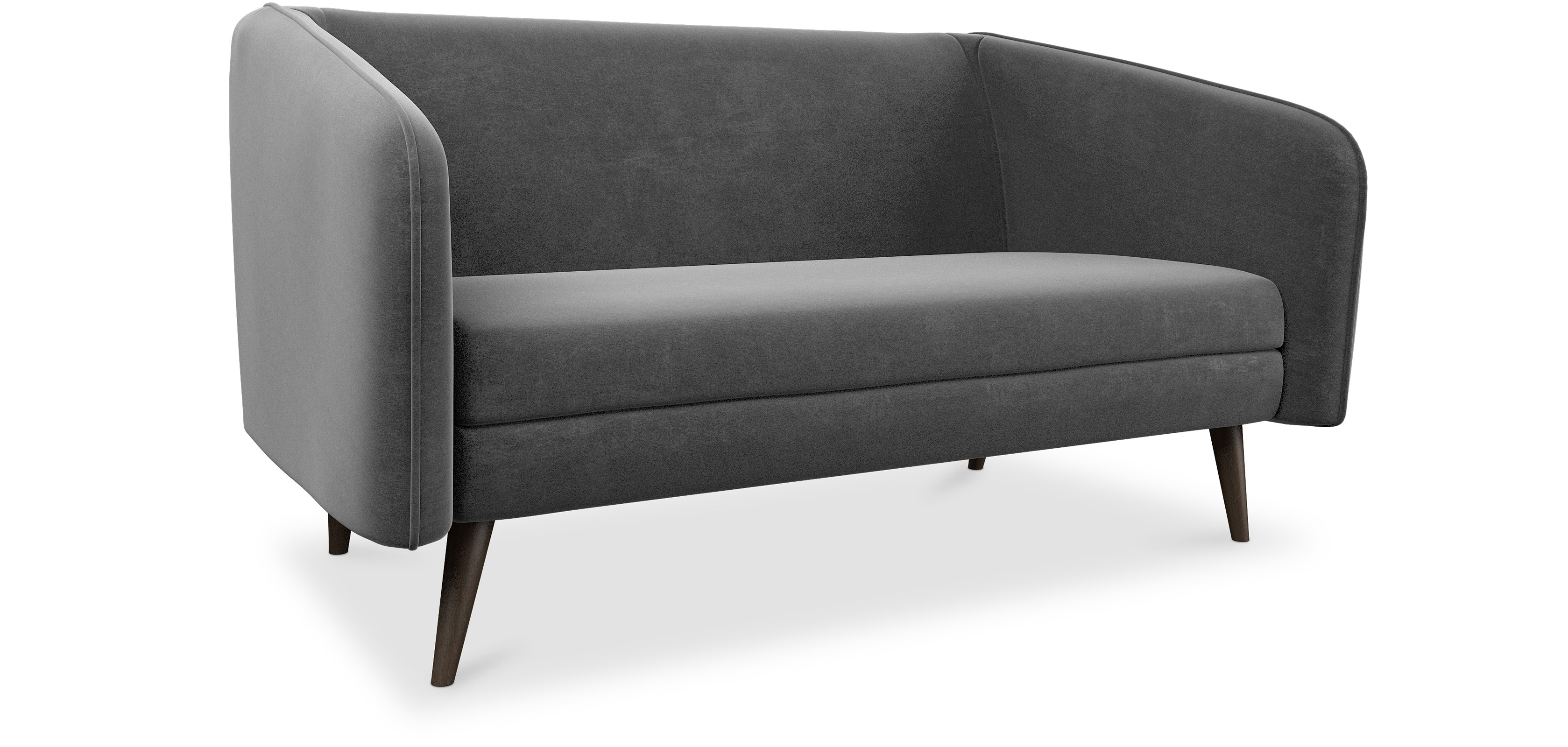 modernes 2 sitzer sofa. Black Bedroom Furniture Sets. Home Design Ideas